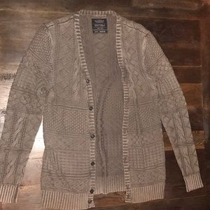 All Saints Cable knit Cardigan